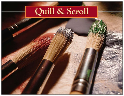Quill & Scroll mentoring through creative art and communication
