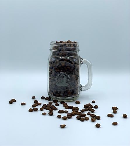 Canning mug with Cellar Door Logo