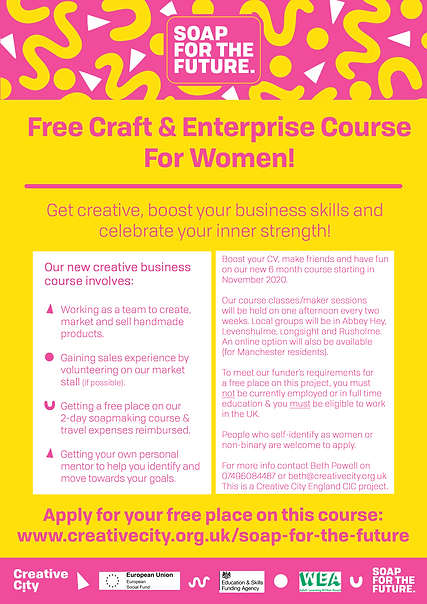 Free Craft and Enterprise Course with SF
