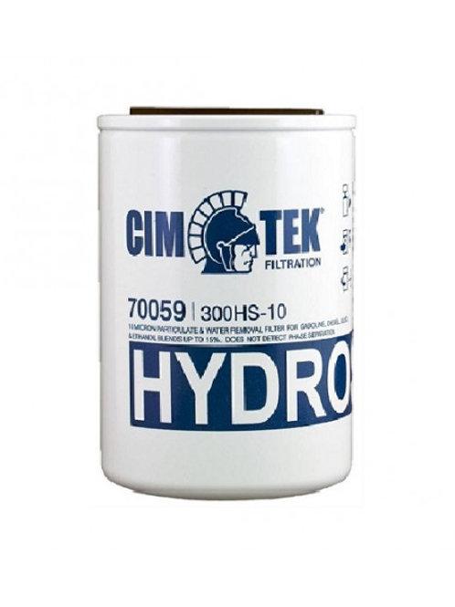 "Cim-Tek 300HS-10, 70059, Hydrosorb, 3/4"", 10 Micron, 1"" - 12 UNF"