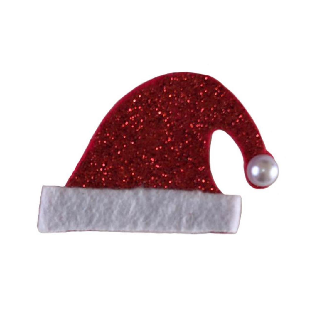 Aplique Natal Chapéu  Papai Noel P