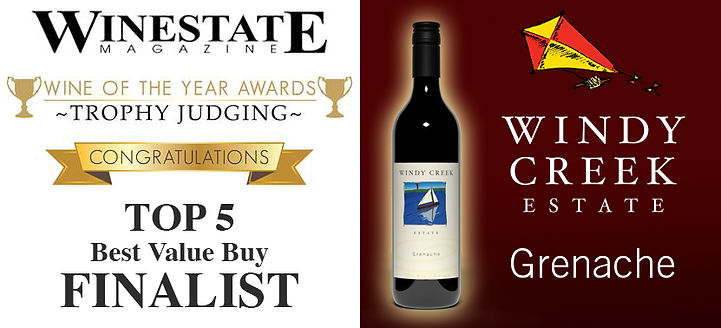 Winestate Magazine Best Value Buy Finalist