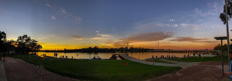 Wide sunrise at ANA