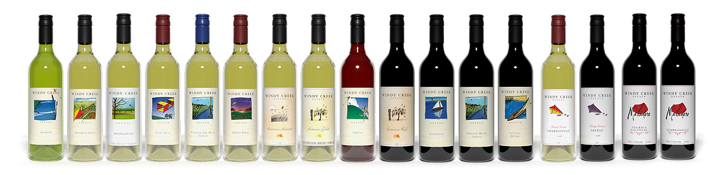 Our full range of wines