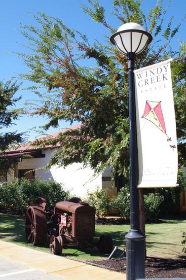 Windy Creek Winery entrance