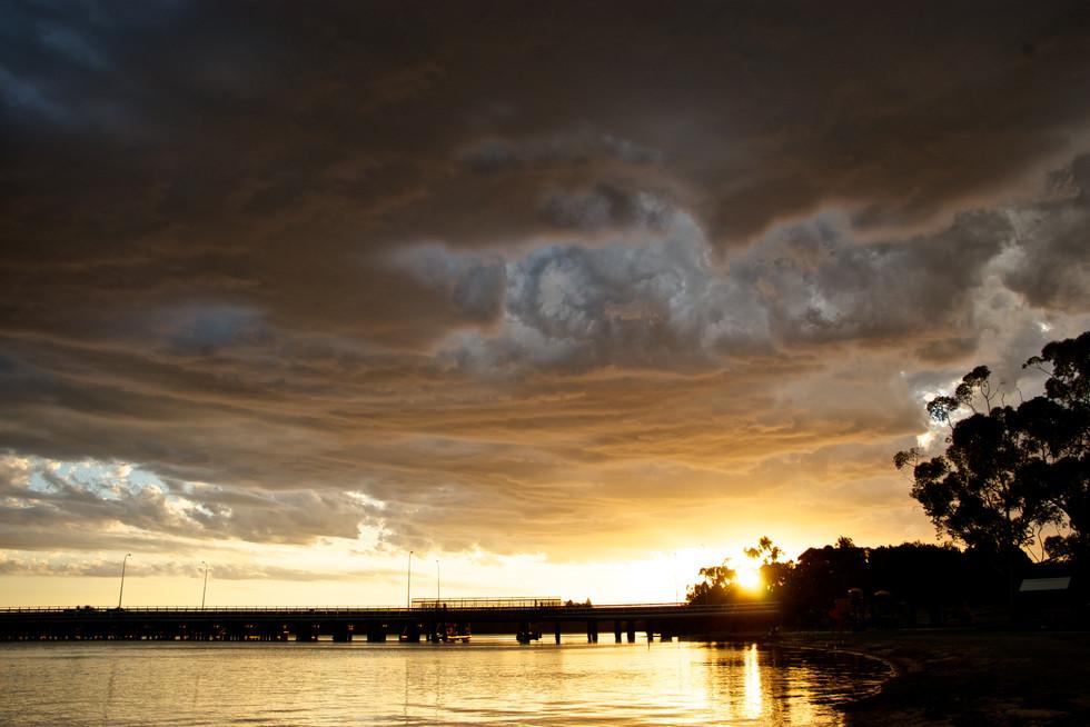 Sunset storm 3