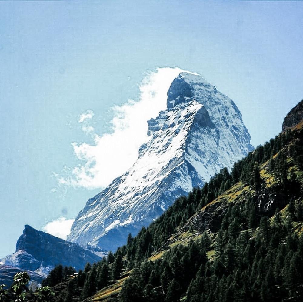 Matterhorn Mountain in Zermatt Switzerland