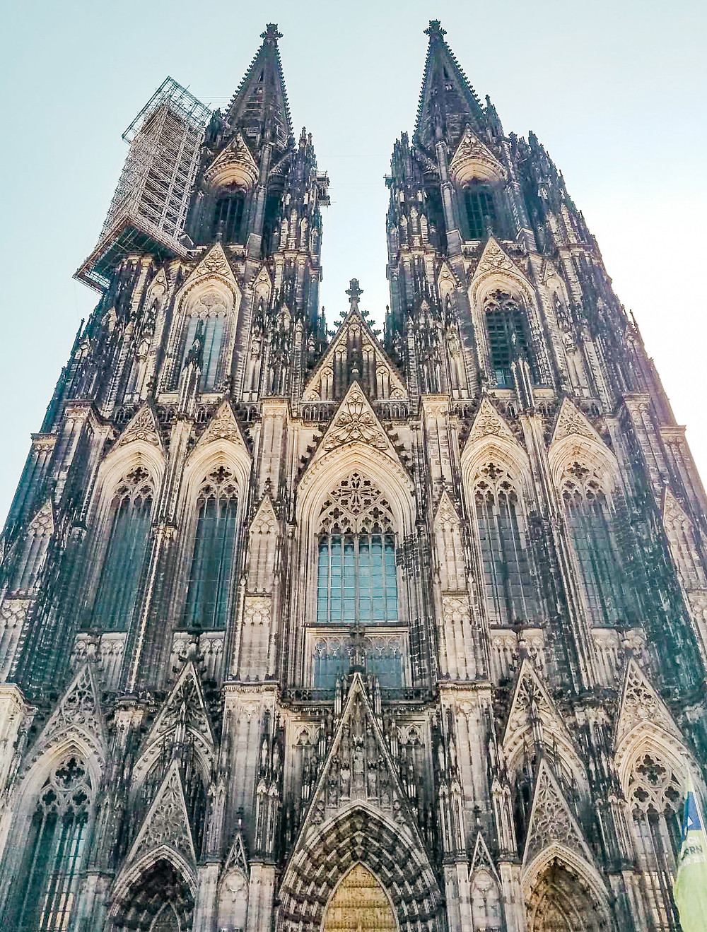 The Cologne Cathedral in Cologne, Germany