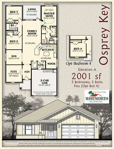 Osprey Key floor plan