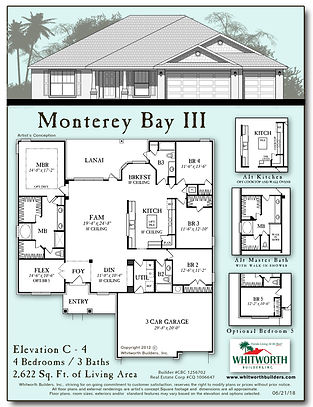 Monterey Bay III floor plan