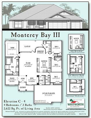 Monterey Bay III floor plan
