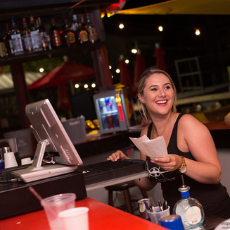 Serving smiles all night long