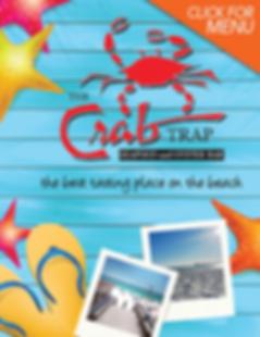 Crab Trap Destin Menu
