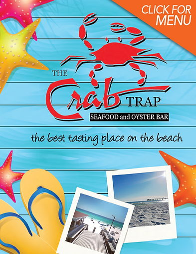 Crab Trap Destin Menu