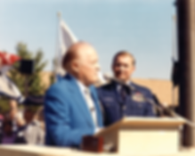 CMSAF#9 James C. Binnicker and Bob Hope