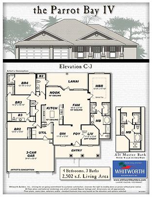 The Parrot Bay IV floor plan