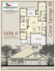 Coral Springs III floor plan