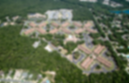 Aerial view of Air Force Enlisted Village