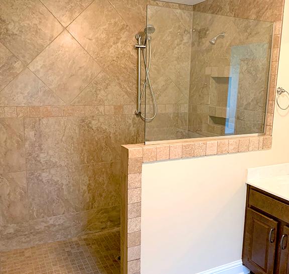 Navarre area shower