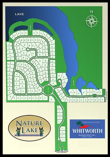 Nature Lake home sites