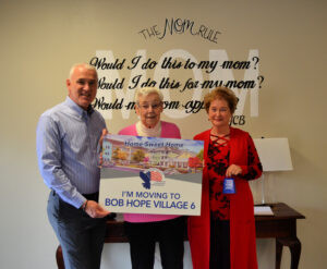 Number 14 Lucky Again for Future Bob Hope Village Resident
