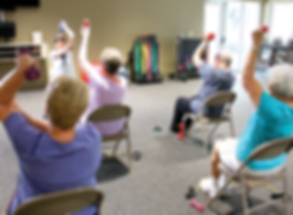 Weight lifting and other wellness classes
