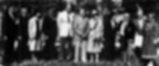 1984 photo of the dedication of Bob Hope Village