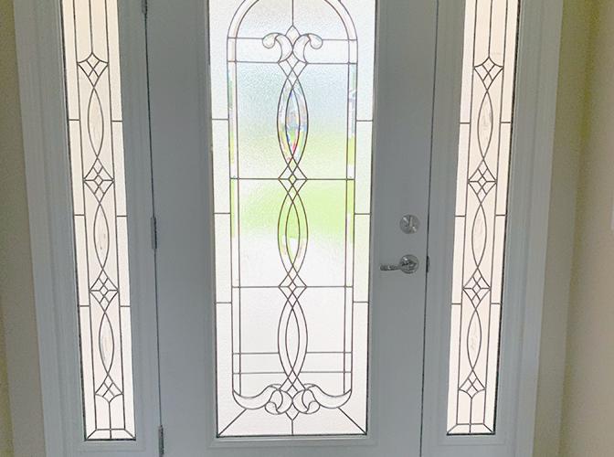 Navarre area front door detail