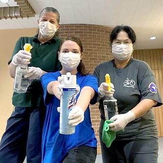 COVID-19 Cleaning Crew