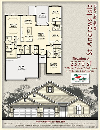 St Andrews Isle floor plan
