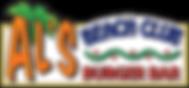 Al's Beach Club and Burger Bar Logo