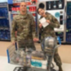 COVID-19 Walmart food and supply run during quarantine