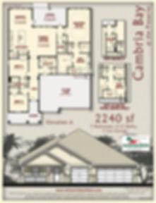 Cambria Bay floor plan