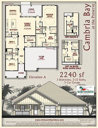 Cambria Bay floor plan