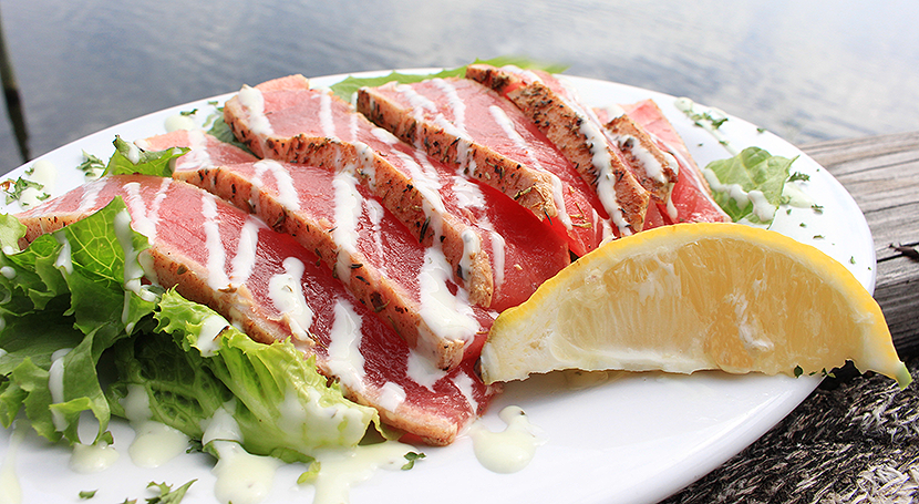 Boathouse Landing Tuna