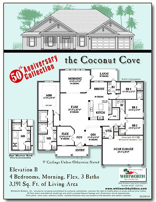 Coconut Cove 50th Anniversary Floor Plan