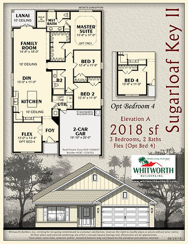Sugarloaf Key II floor plan