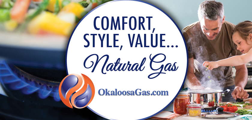 Okaloosa Gas - Comfort, Style, Value