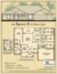 Spruce II floor plan