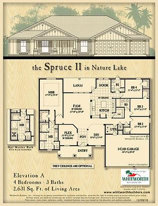 Spruce II floor plan