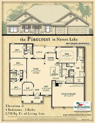 Pinecrest floor plan