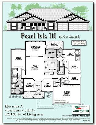 Pearl Isle III floor plan
