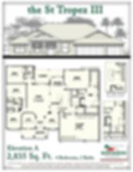 St Tropez III floor plan