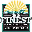 2019 Finest on the Emerald Coast logo