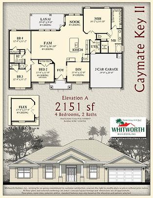 Caymate Key II floor plan