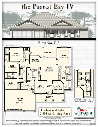 Parrot Bay IV C3 floor plan