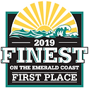 First place winner 2019 Finest on the Emerald Coast