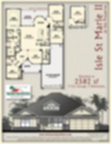 Isle St Marie II floor plan