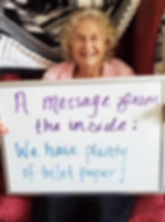 Messages from the 'Inside' at Hawthorn House