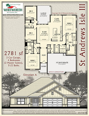 St Andrews Isle III floor plan